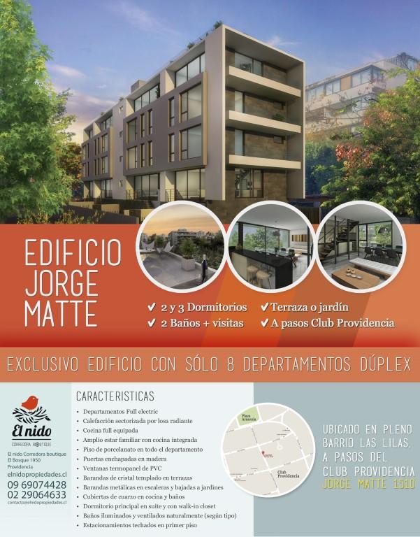 Edificio Jorge Matte Brochure